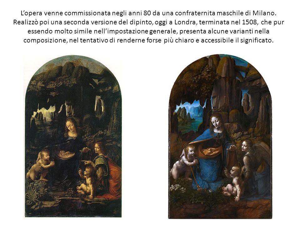 L'opera venne commissionata negli anni 80 da una confraternita maschile di Milano.