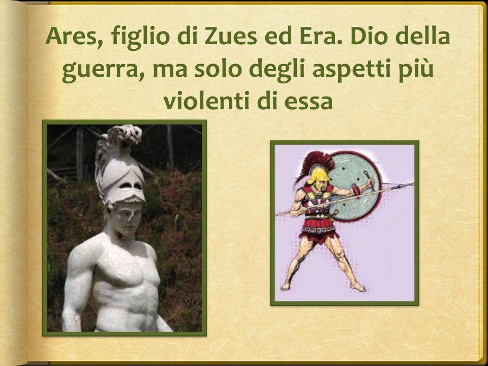 Ares, figlio di Zues ed Era