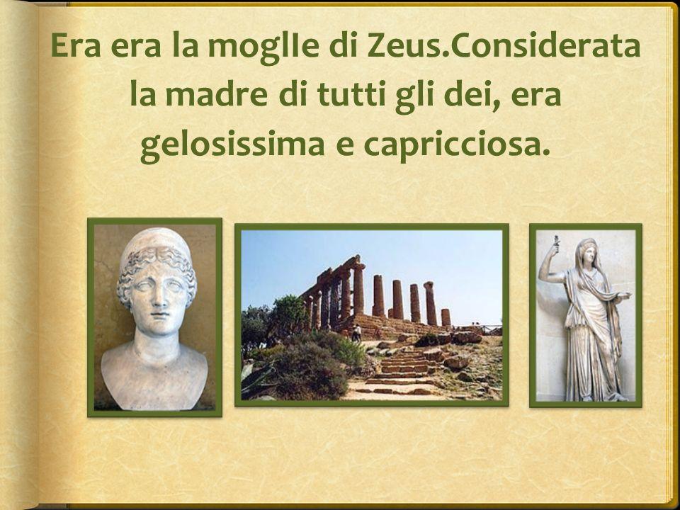 Era era la moglIe di Zeus