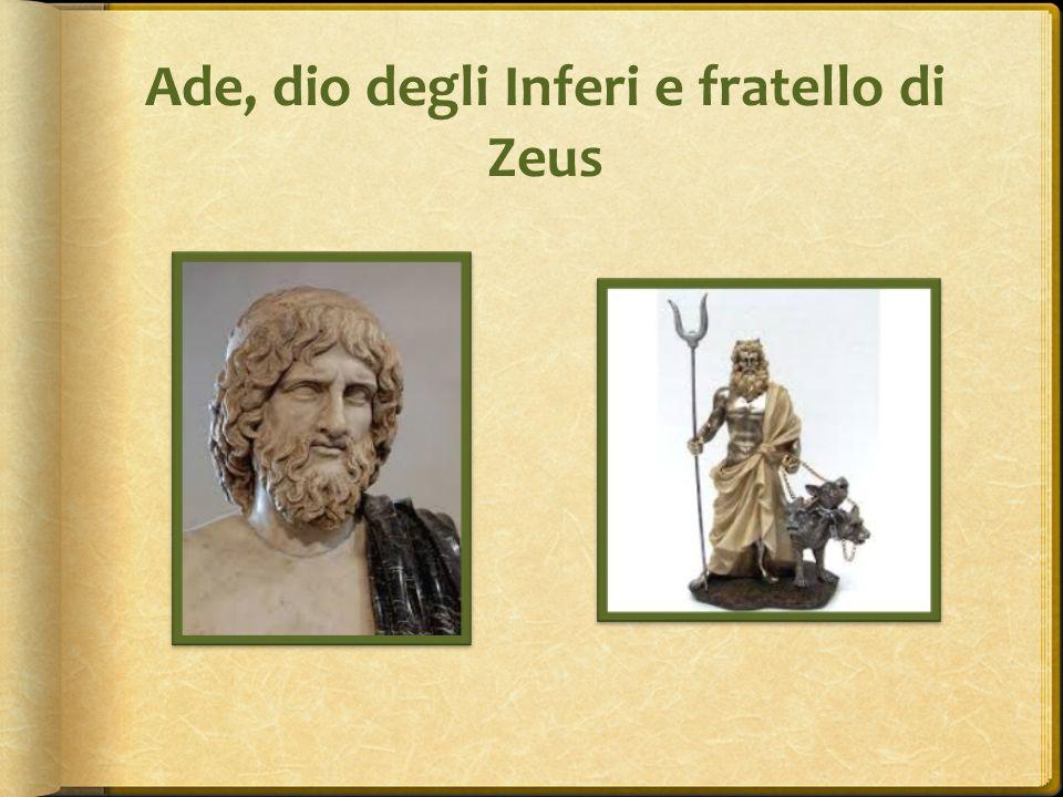 Ade, dio degli Inferi e fratello di Zeus