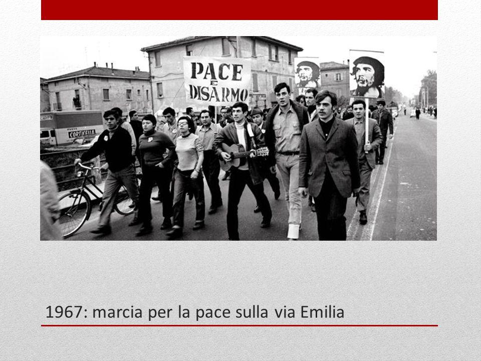 1967: marcia per la pace sulla via Emilia
