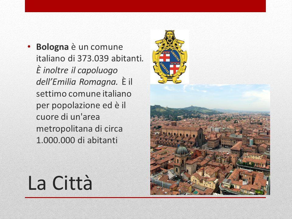 Bologna è un comune italiano di 373. 039 abitanti
