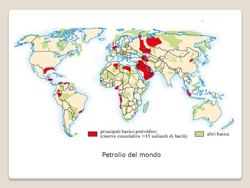 Petrolio del mondo