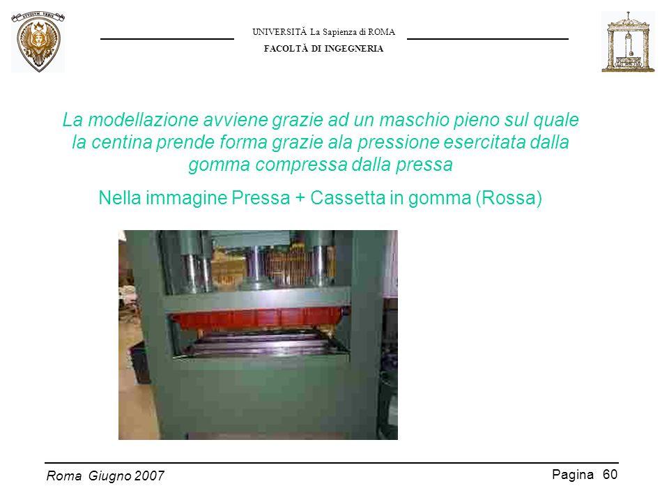 Nella immagine Pressa + Cassetta in gomma (Rossa)