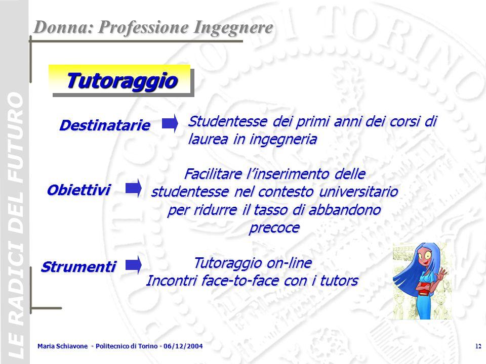 Tutoraggio on-line Incontri face-to-face con i tutors