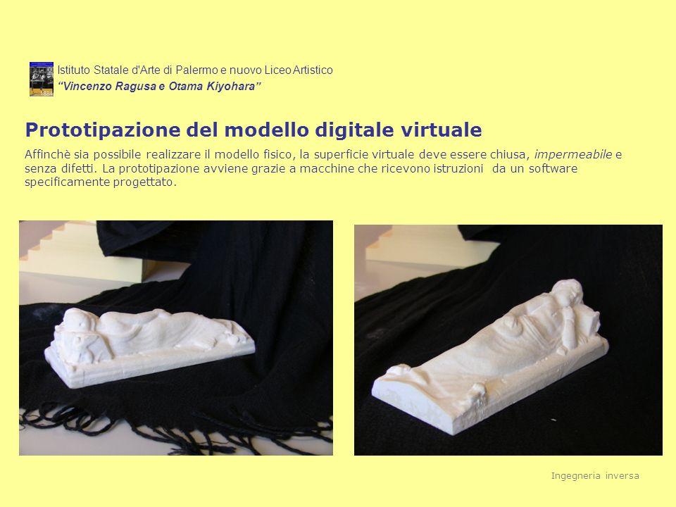 Prototipazione del modello digitale virtuale