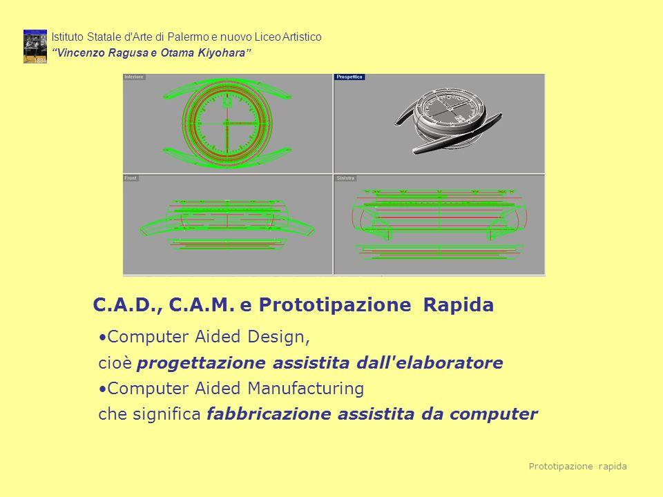 C.A.D., C.A.M. e Prototipazione Rapida