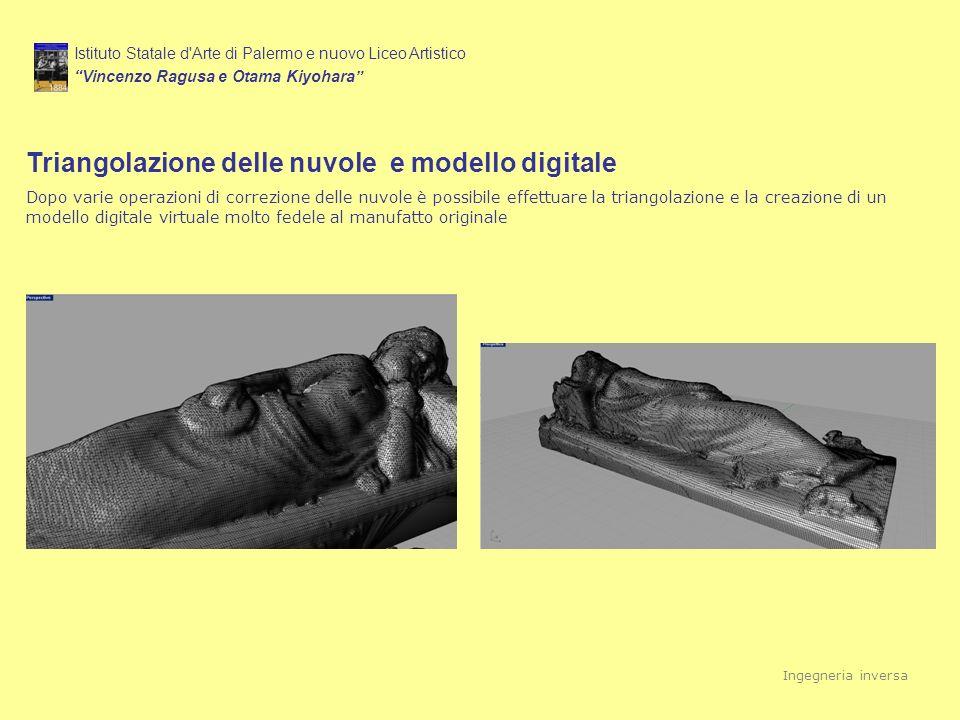 Triangolazione delle nuvole e modello digitale