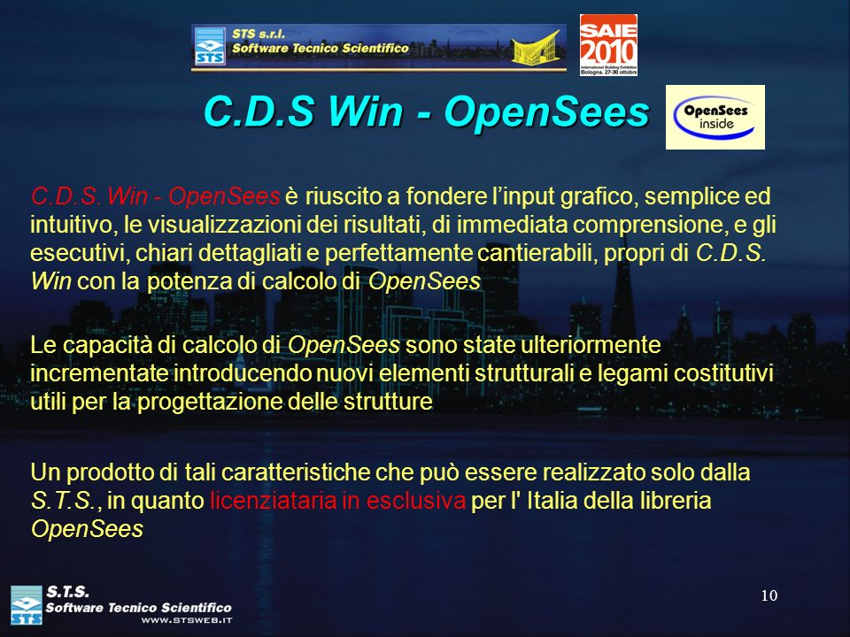 C.D.S Win - OpenSees
