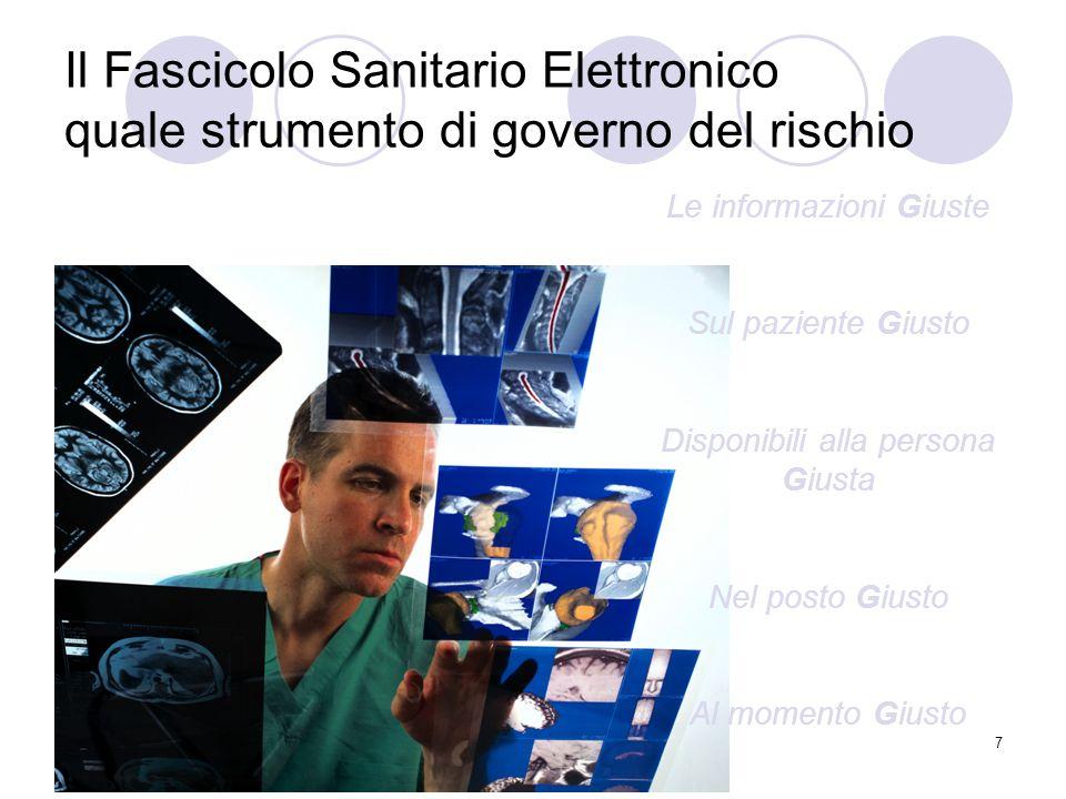 Il Fascicolo Sanitario Elettronico quale strumento di governo del rischio