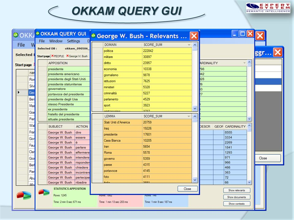 OKKAM QUERY GUI