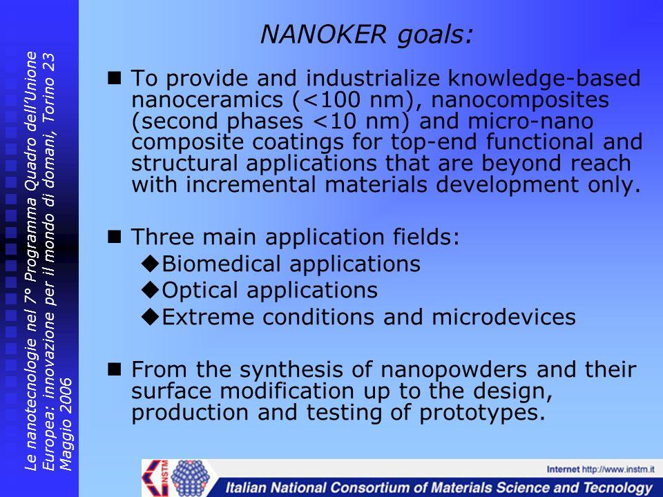 NANOKER goals: