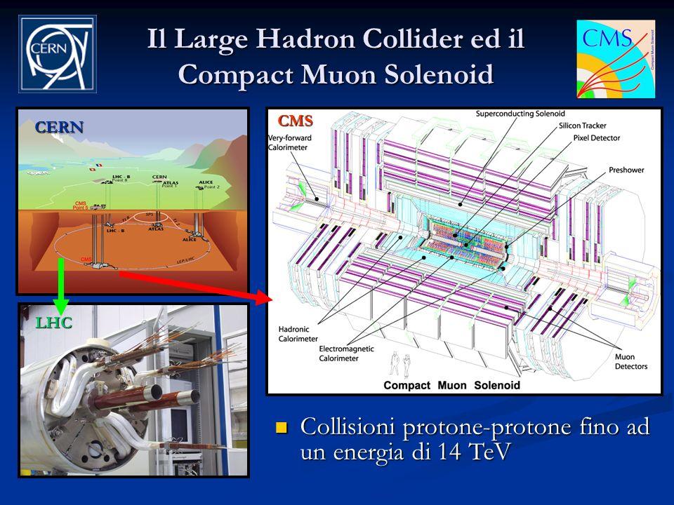 Il Large Hadron Collider ed il Compact Muon Solenoid