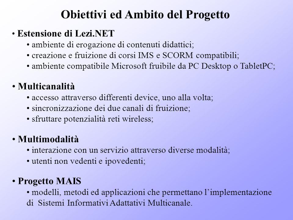 Obiettivi ed Ambito del Progetto