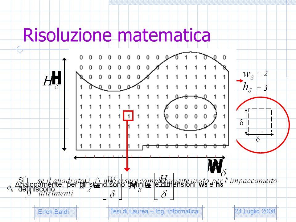 Risoluzione matematica