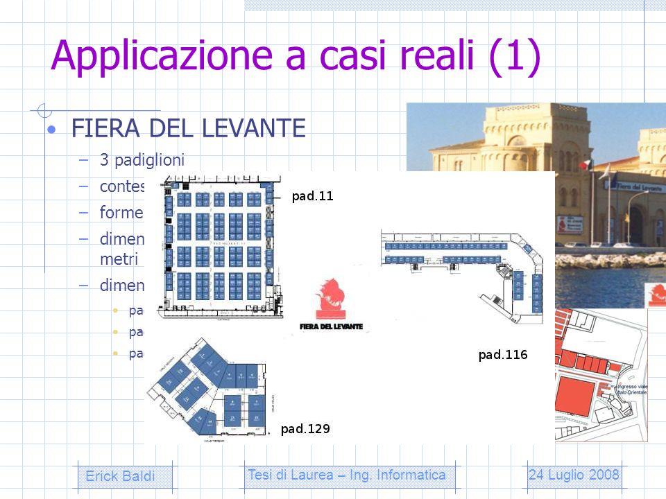 Applicazione a casi reali (1)