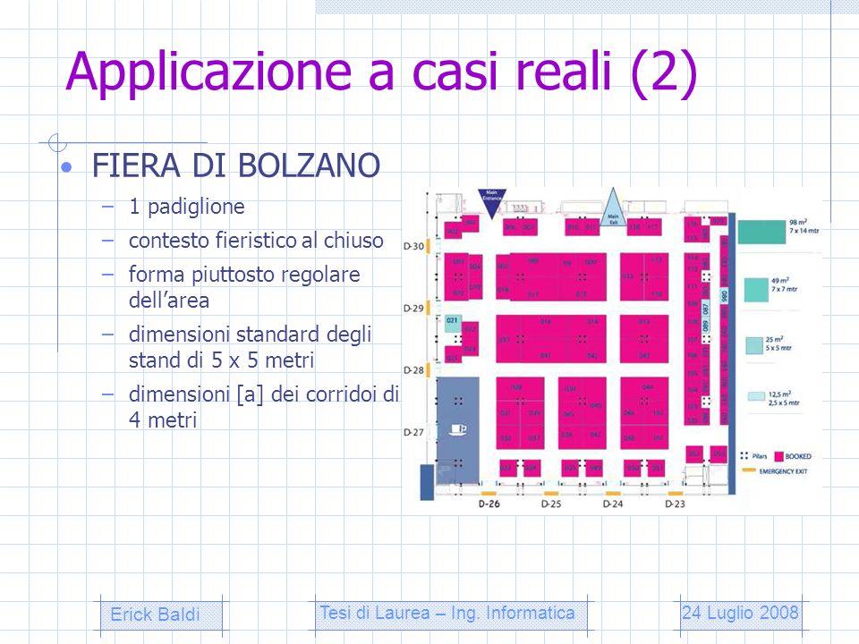 Applicazione a casi reali (2)