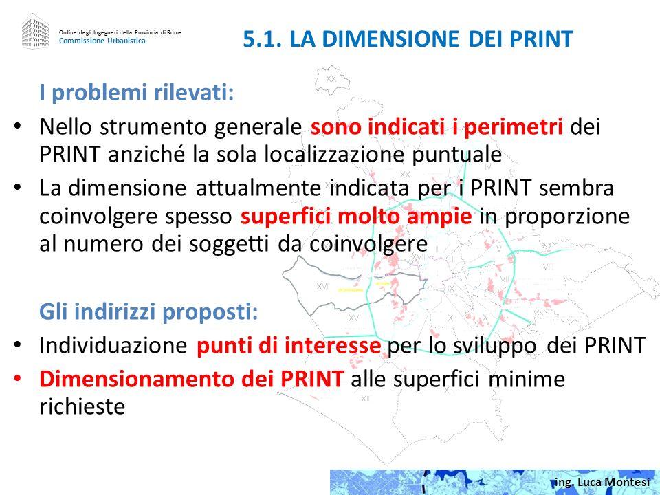 5.1. LA DIMENSIONE DEI PRINT