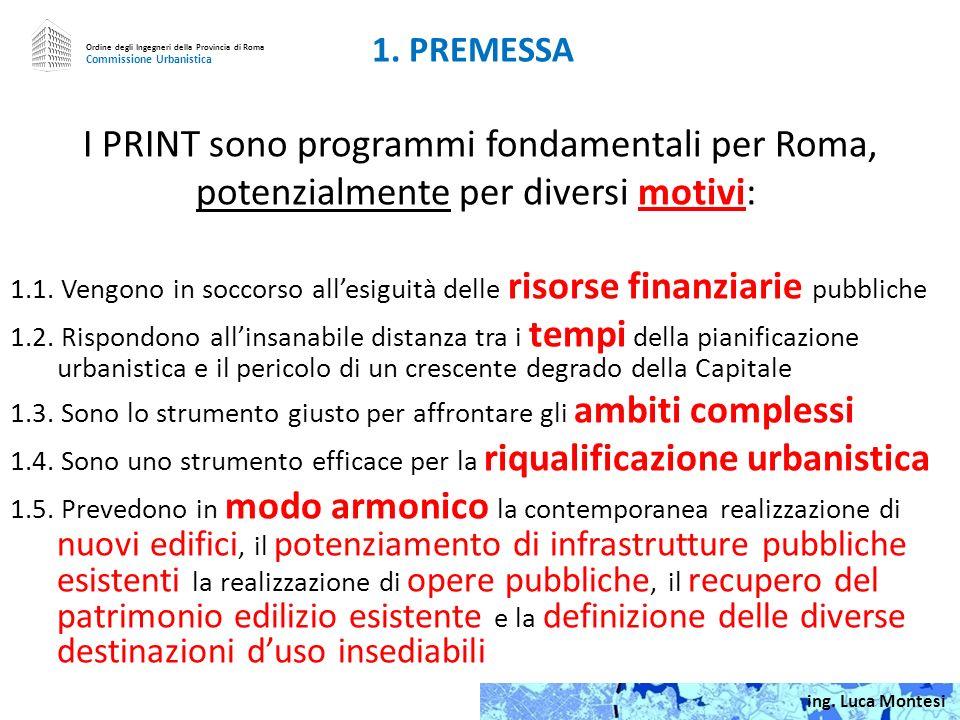 I PRINT sono programmi fondamentali per Roma,