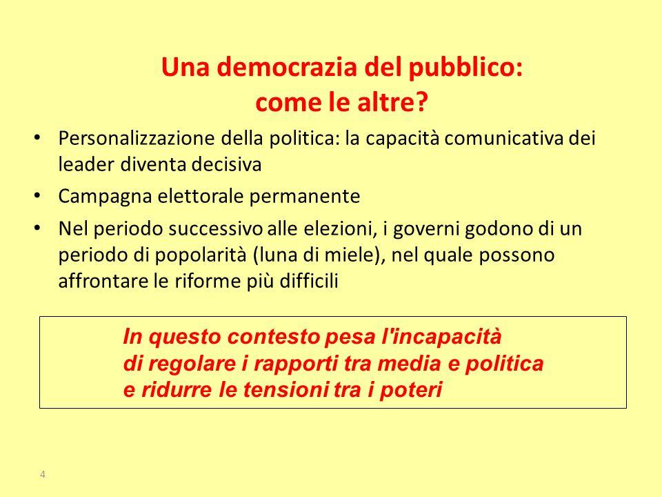Una democrazia del pubblico: come le altre