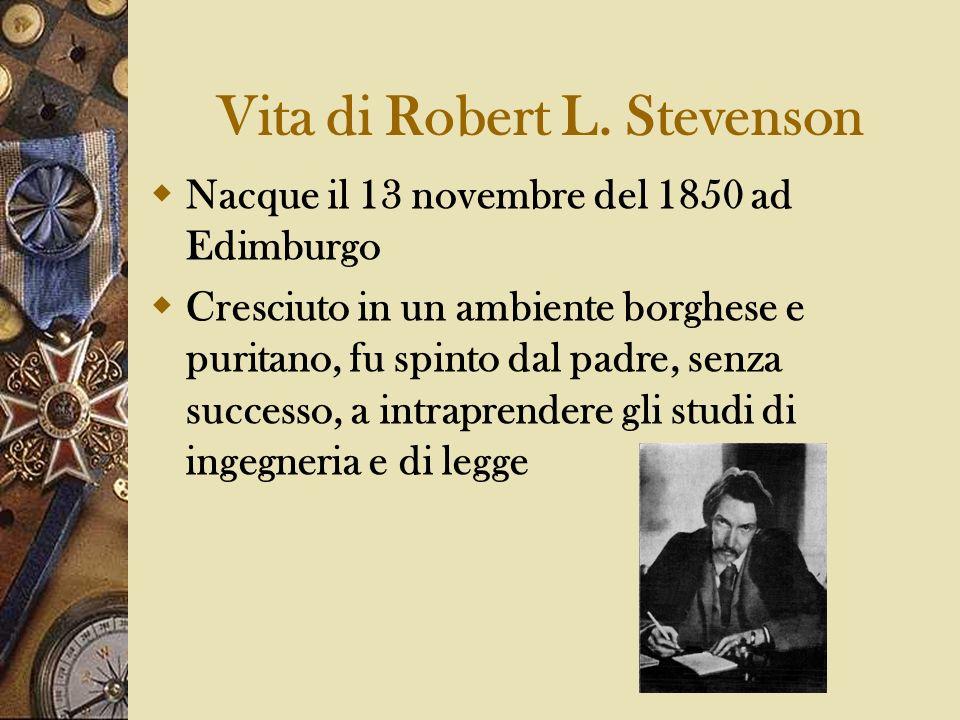 Vita di Robert L. Stevenson