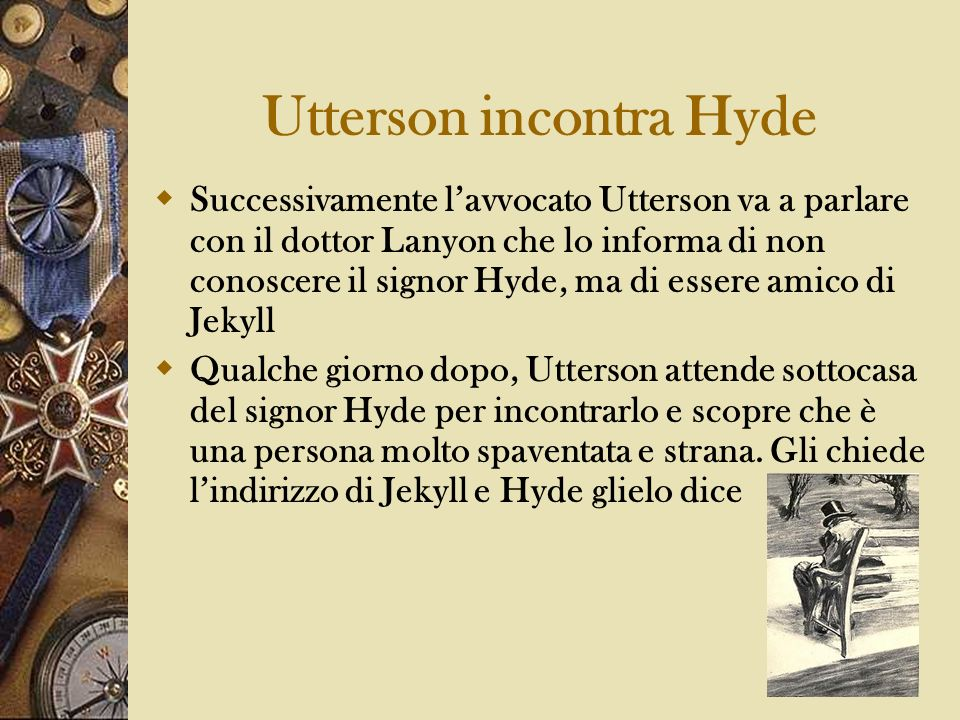 Utterson incontra Hyde
