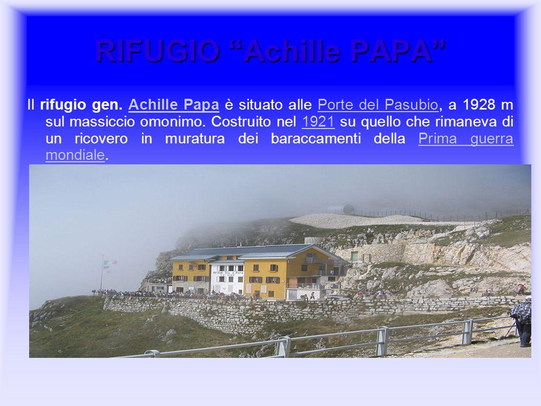 RIFUGIO Achille PAPA