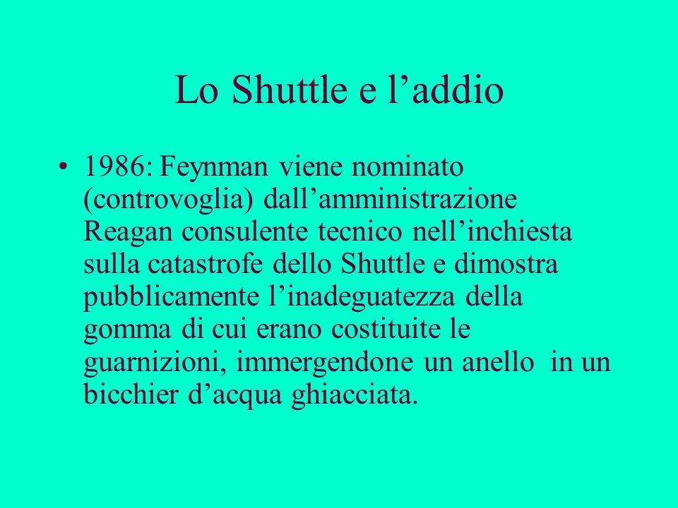 Lo Shuttle e l'addio