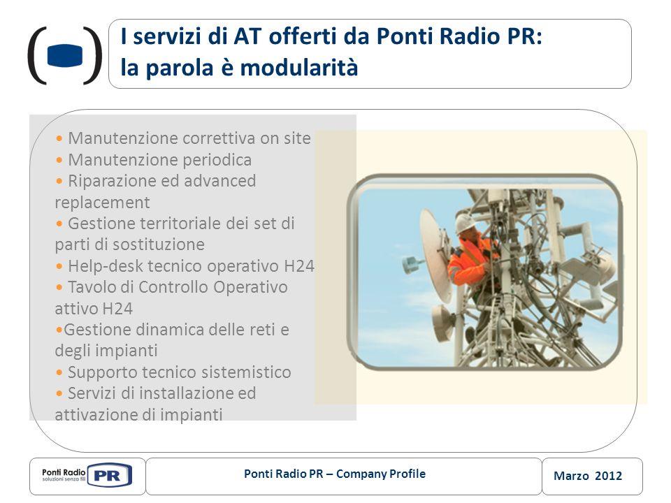 I servizi di AT offerti da Ponti Radio PR: la parola è modularità