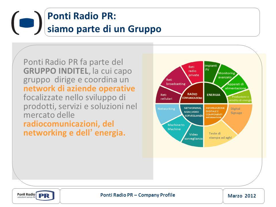 Ponti Radio PR: siamo parte di un Gruppo