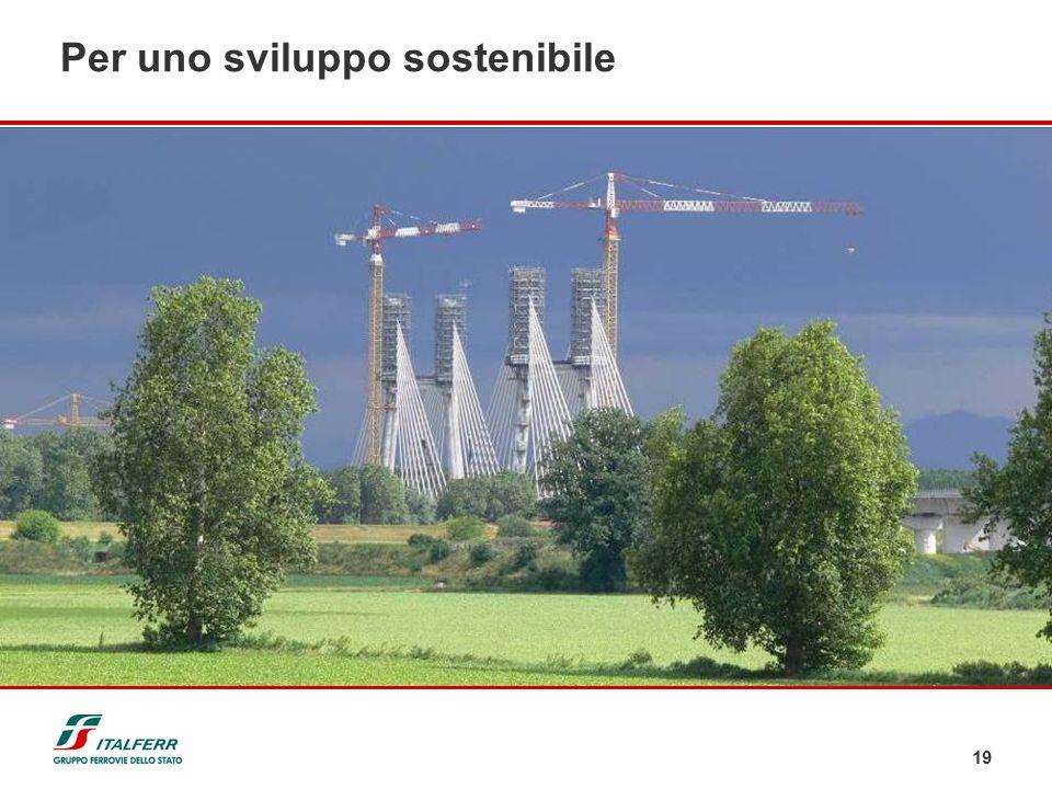 Per uno sviluppo sostenibile