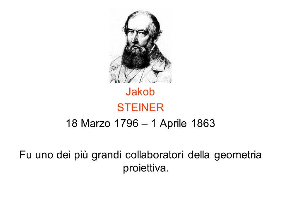 Fu uno dei più grandi collaboratori della geometria proiettiva.