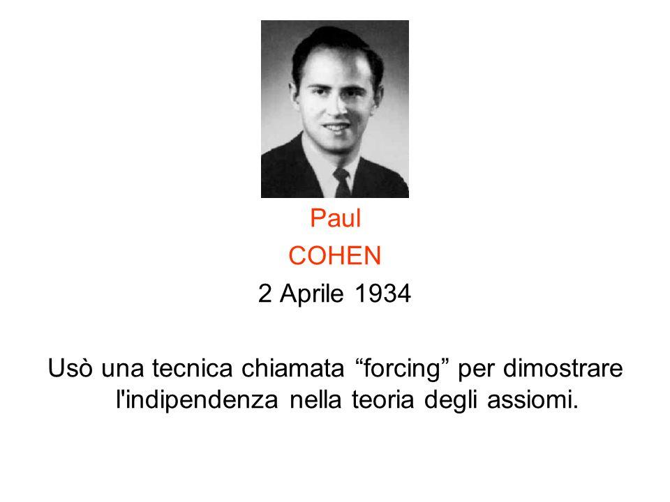 Paul COHEN. 2 Aprile 1934.