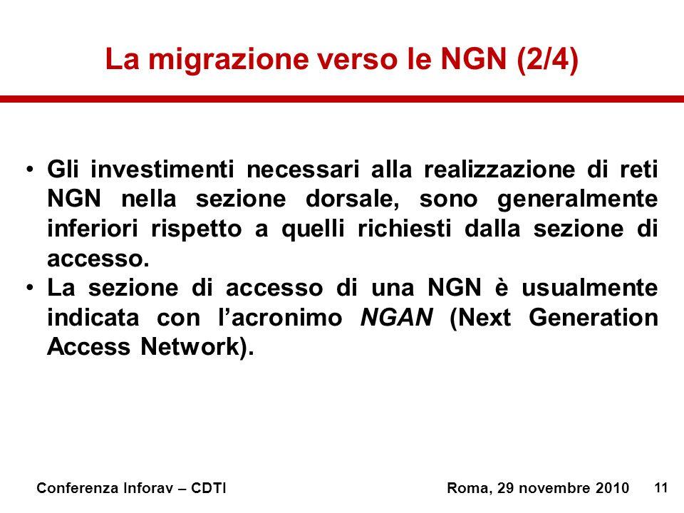 La migrazione verso le NGN (2/4)