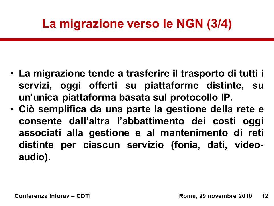 La migrazione verso le NGN (3/4)