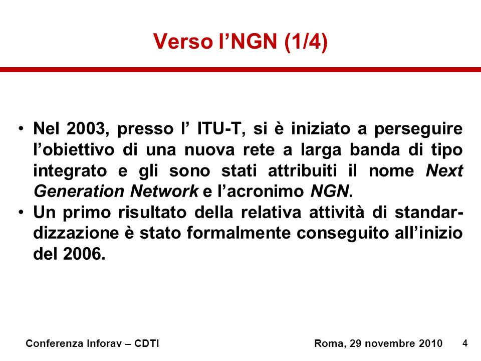 Verso l'NGN (1/4)