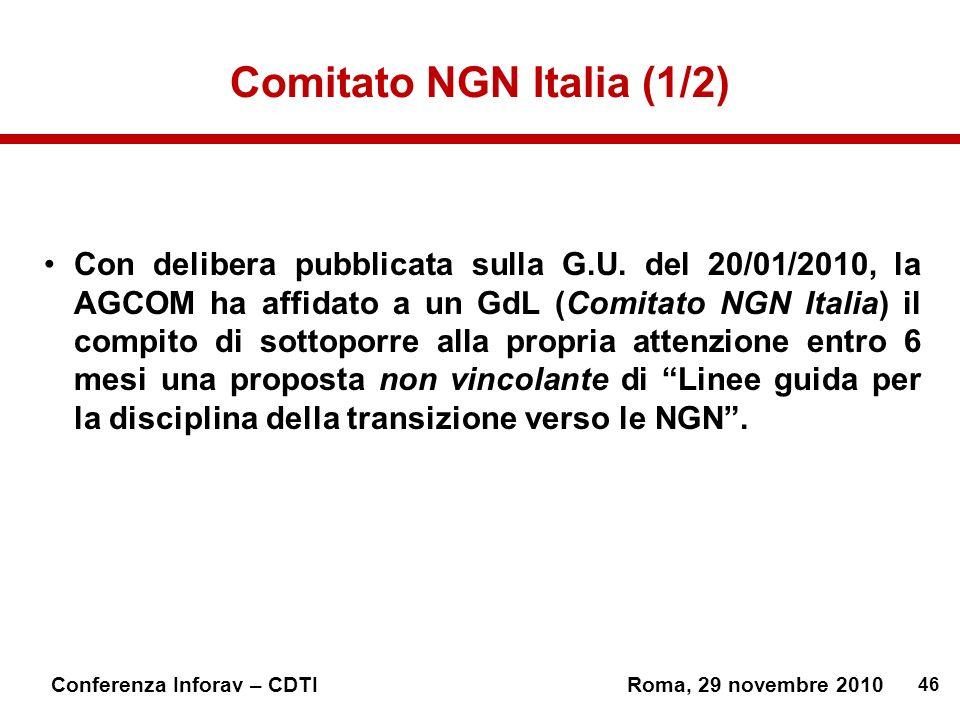 Comitato NGN Italia (1/2)