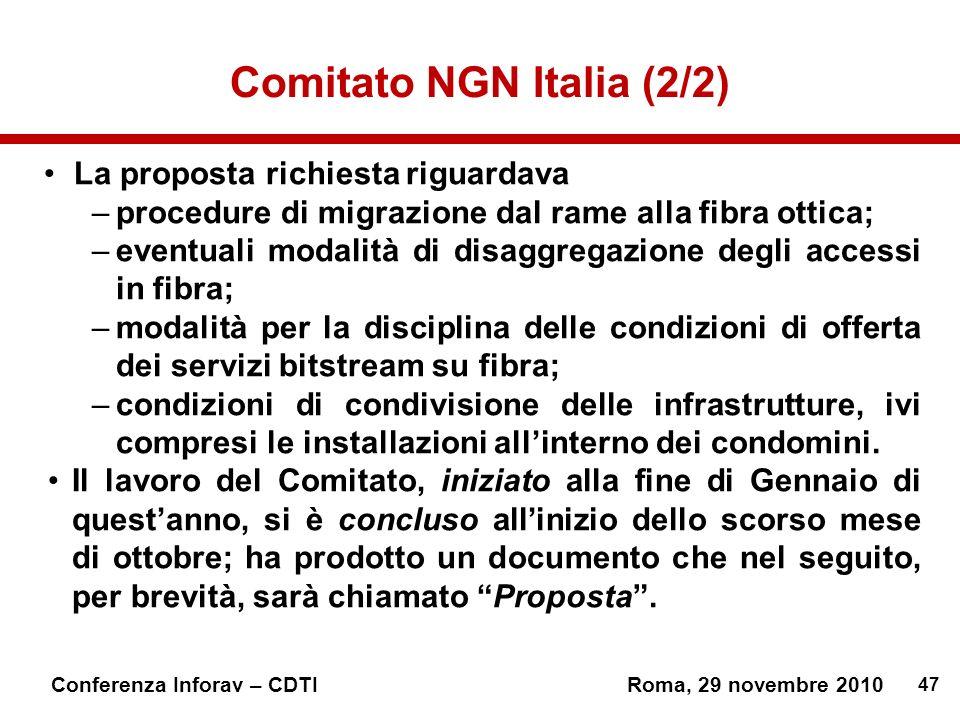 Comitato NGN Italia (2/2)