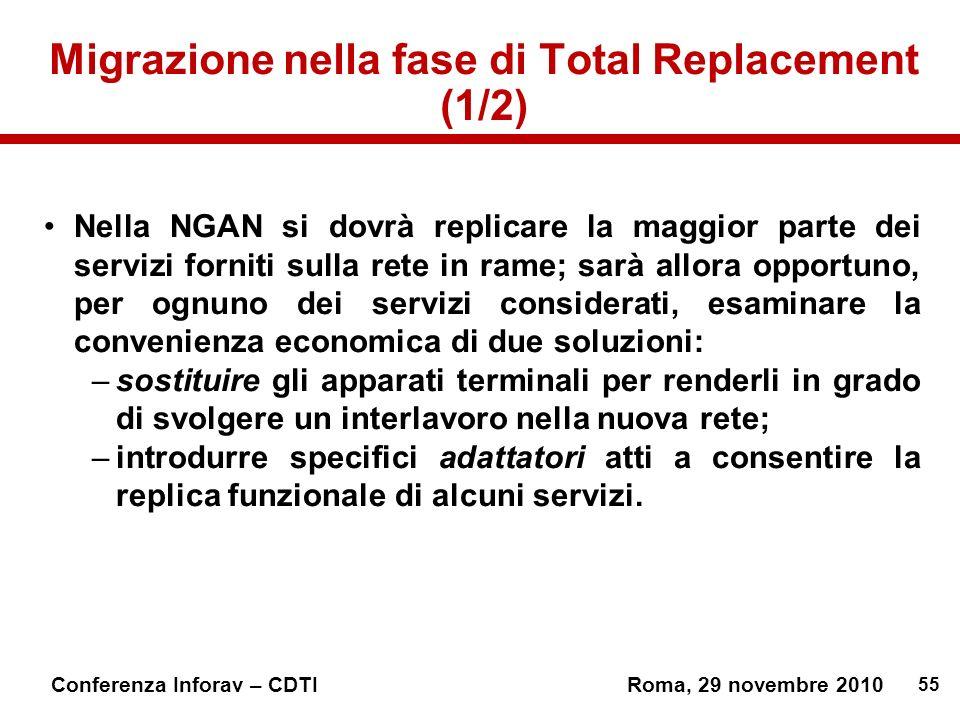 Migrazione nella fase di Total Replacement (1/2)