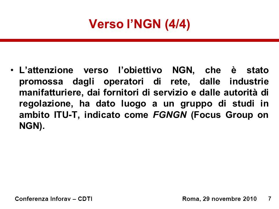 Verso l'NGN (4/4)