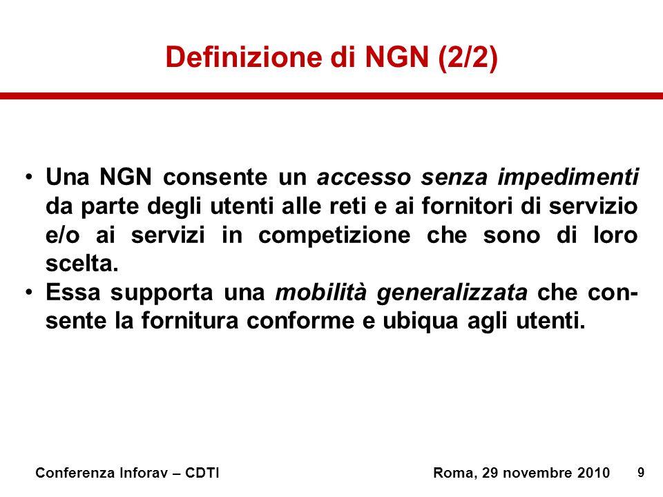 Definizione di NGN (2/2)