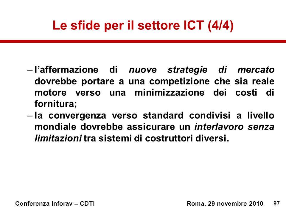 Le sfide per il settore ICT (4/4)