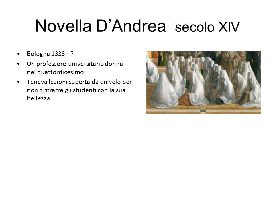 Novella D'Andrea secolo XIV
