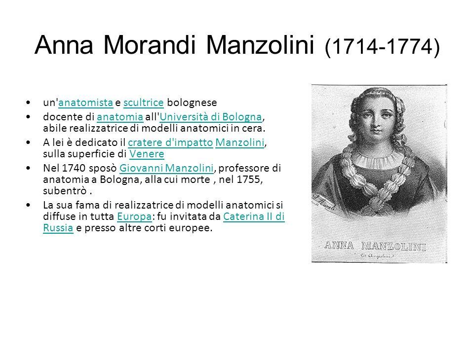 Anna Morandi Manzolini (1714-1774)