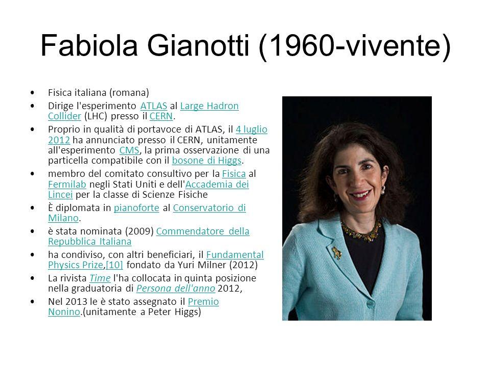 Fabiola Gianotti (1960-vivente)