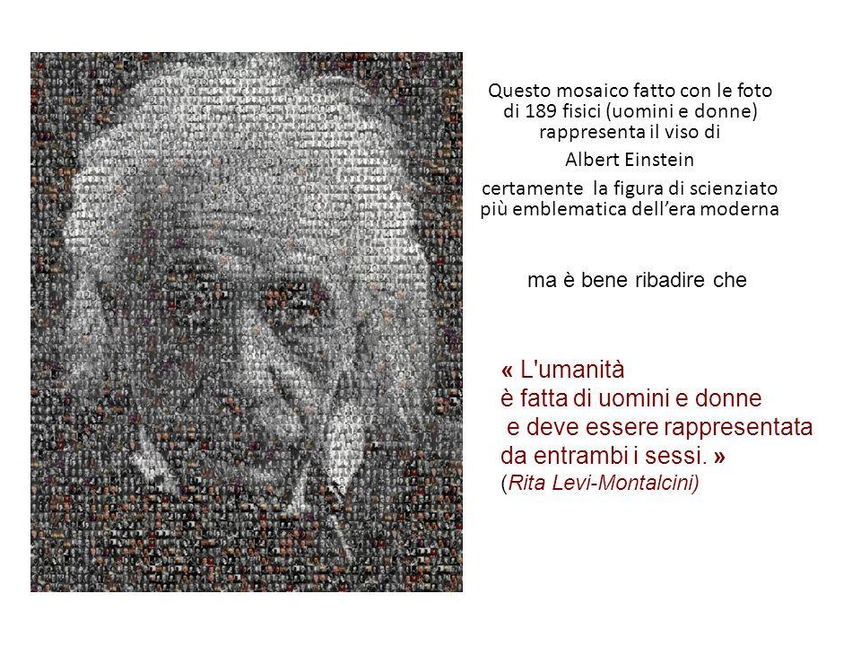 certamente la figura di scienziato più emblematica dell'era moderna
