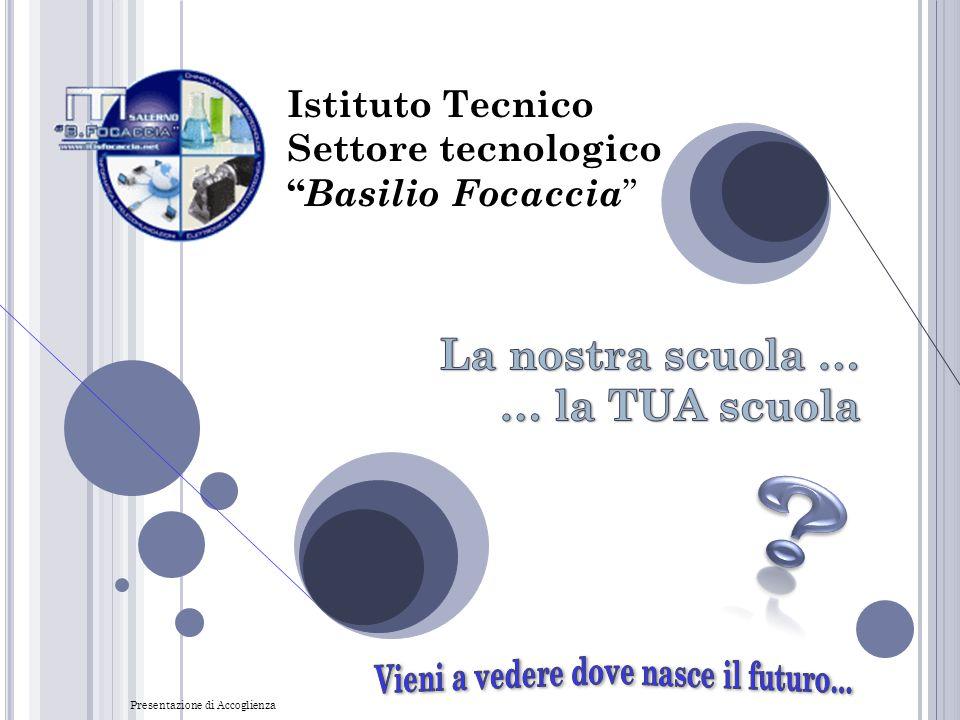La nostra scuola … … la TUA scuola Istituto Tecnico