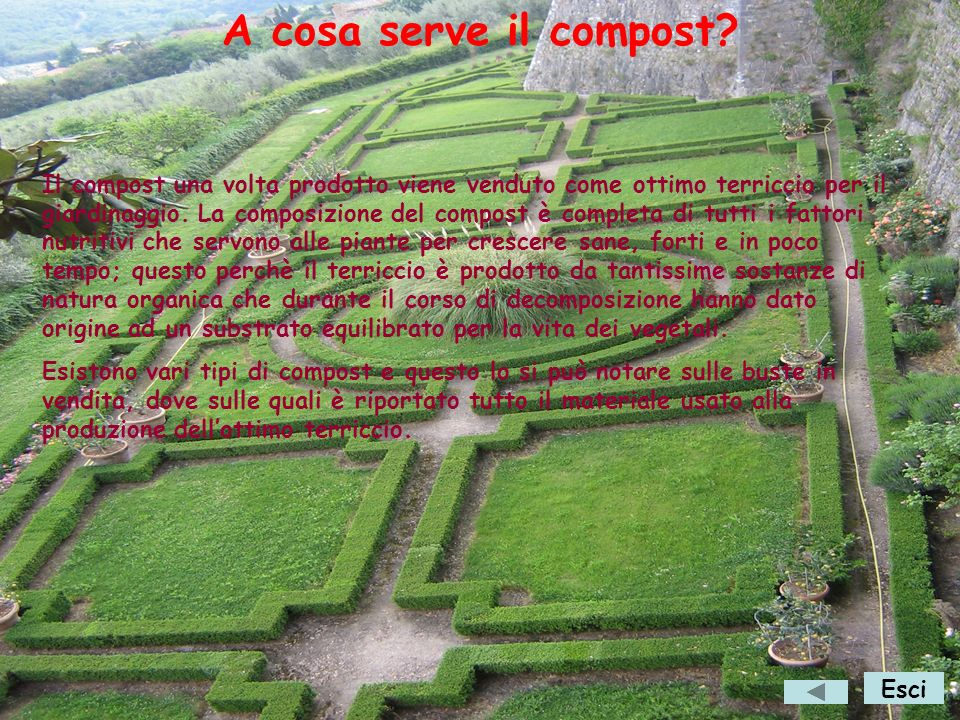 A cosa serve il compost