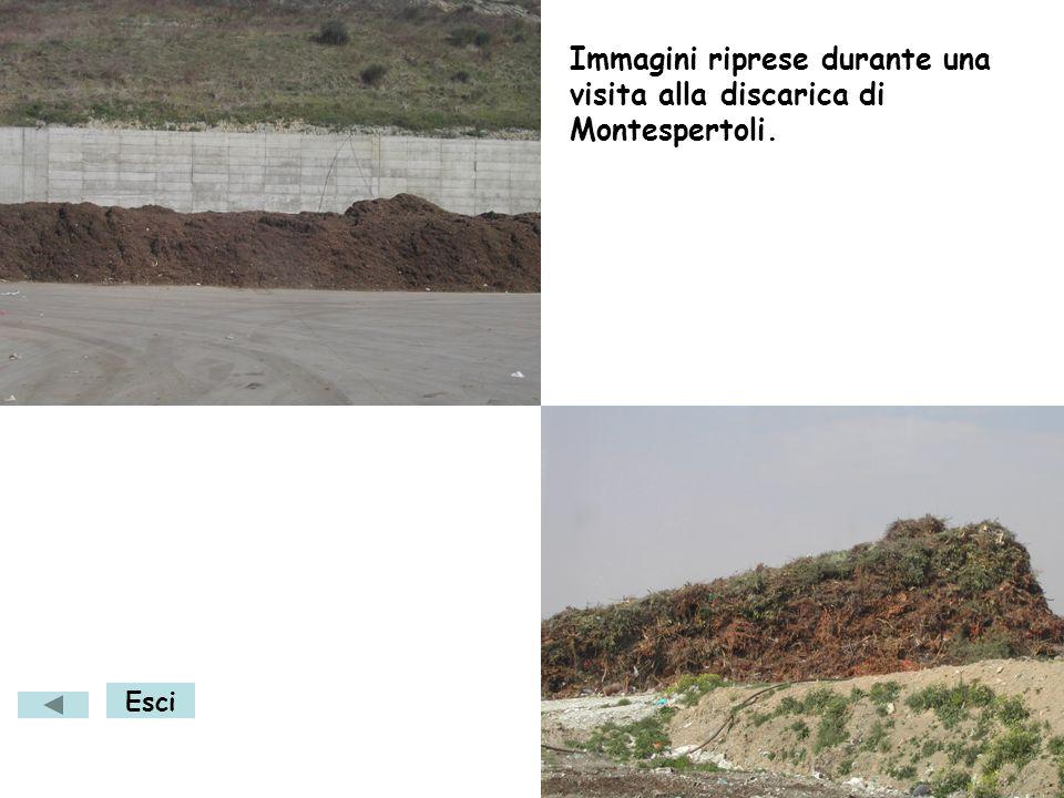 Immagini riprese durante una visita alla discarica di Montespertoli.