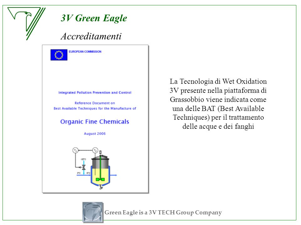 Green Eagle is a 3V TECH Group Company